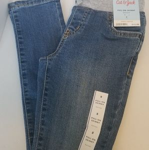 Jean's with Knit Waist